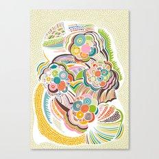Blossom Colorful Canvas Print
