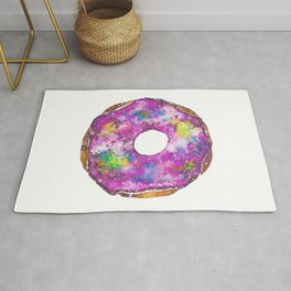 Psychedelic Phrosted Doughnut Baker's Dozen #1 Rug