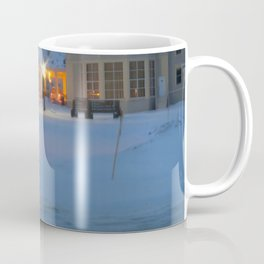 Yellowstone Snowy Morning Coffee Mug