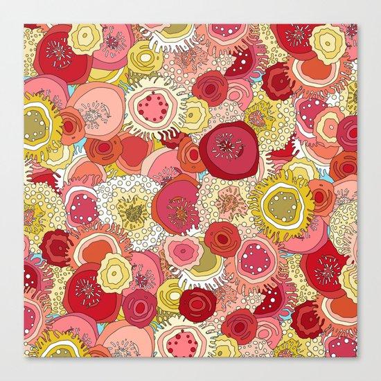 coral garden Canvas Print