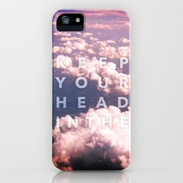In The Clouds iPhone Case
