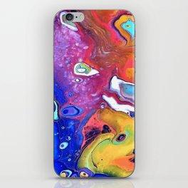 Wild and Crazy Art Flow iPhone Skin