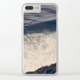 Vintage Ocean 08 Clear iPhone Case