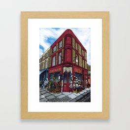 British Shop Framed Art Print