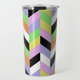 Stacked Colour Travel Mug
