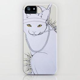 Rad Cat iPhone Case