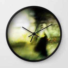 Dance in meadow Wall Clock