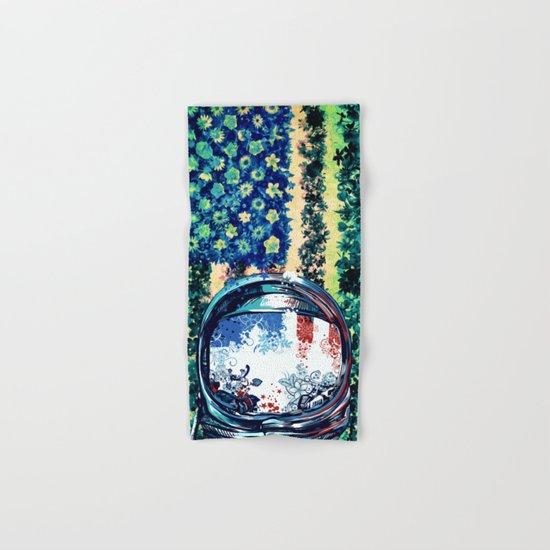 pop art usa collage 3 Hand & Bath Towel