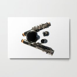 Clarinet Metal Print