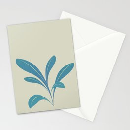 The shy plant Stationery Cards
