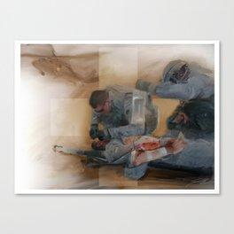 Combat Medic Canvas Print