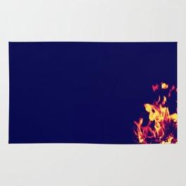 Blue Fire Rug