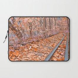 Abandoned Susquehanna Railroad - Fantasy Express Laptop Sleeve