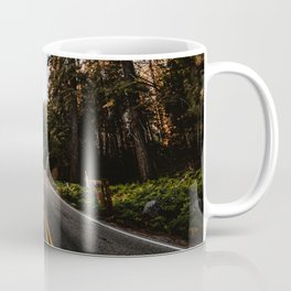Summer Drive Through the Forest Coffee Mug