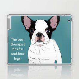French Bulldog Therapy Laptop & iPad Skin
