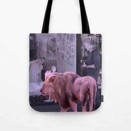 Searching the Beauty. African Invasion Tote Bag