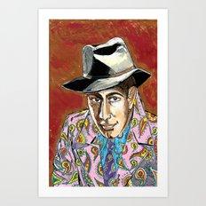 Dead men don't wear Paisley Art Print