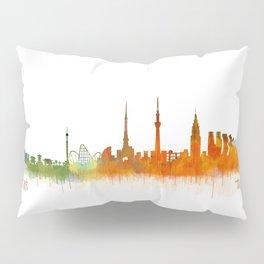 Tokyo City Skyline Hq V2 Pillow Sham