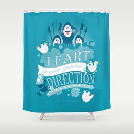 French Taunting Shower Curtain