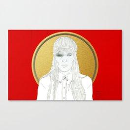 XX (Crystalised) Canvas Print