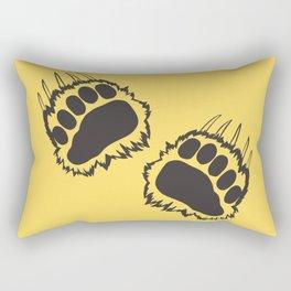 Bear walk Rectangular Pillow