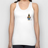 notorious big Tank Tops featuring Notorious BIG Legoman by TyRex Creations