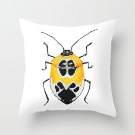 Amazon Stinkbug (Runibia decorata) Throw Pillow