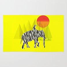 Zelephant - Mahout & Elephant Rug