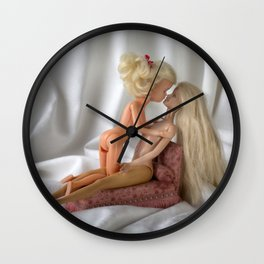 Plastic Passion Wall Clock