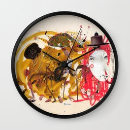 conversation Wall Clock