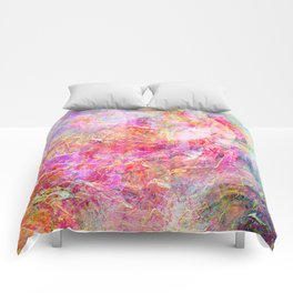Serenity Abstract Painting Comforters