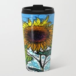 :: Sunshiny Day :: Metal Travel Mug