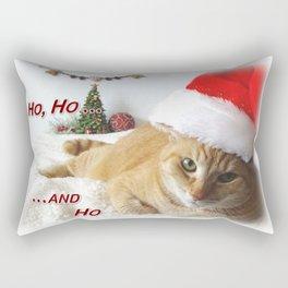 Ho, Ho ... and Ho Rectangular Pillow