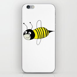 drawing of a wasp iPhone Skin