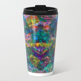 Tropical Metal Travel Mug