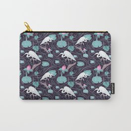 Dance of the Egret Carry-All Pouch