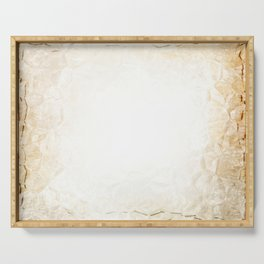 Old parchment paper Serving Tray