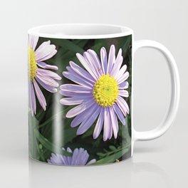 Korean Starwort (Aster Koraiensis) Flowers Coffee Mug