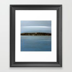 before the storm Framed Art Print