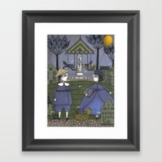 School's Out Framed Art Print