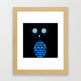 Owls Just Want to Have Fun No.4 Framed Art Print