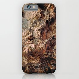 Peter Paul Rubens's The Fall of the Damned iPhone Case
