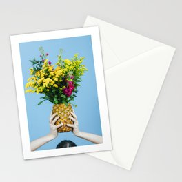 THE COLLECTOR - PINEAPPLE FLOWER Stationery Cards