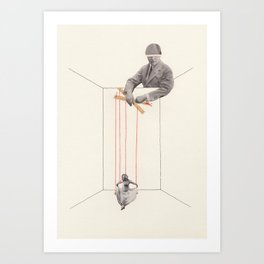 Strings Attached #1 Art Print