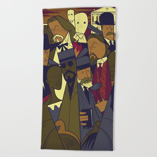 Django Unchained Beach Towel