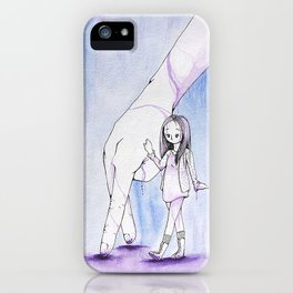 A Friend at Hand iPhone Case