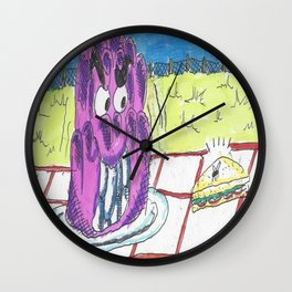 The Jelly Monster! Wall Clock