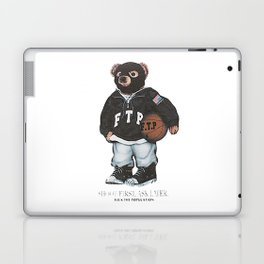 ftp bear Laptop & iPad Skin