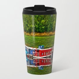Barge Reflection Travel Mug