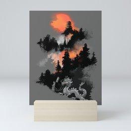 A samurai's life Mini Art Print